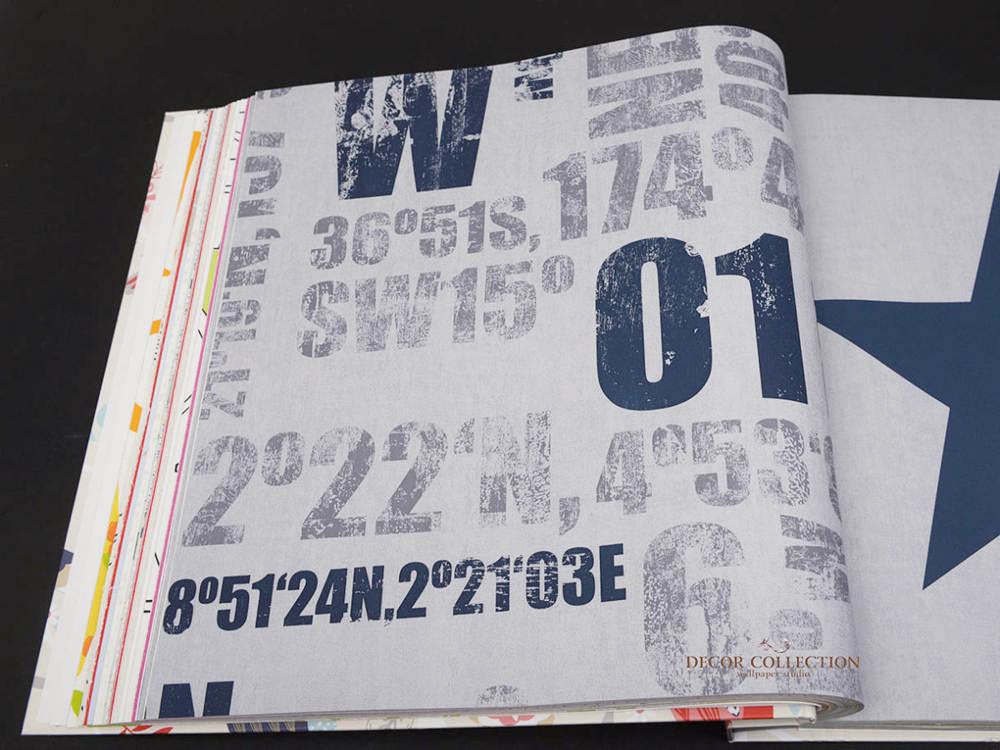 Бумажные обои Rasch Kids Teens II - 248012