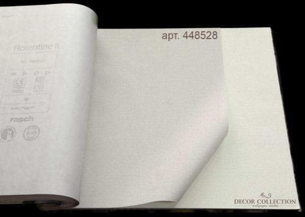 Виниловые обои на флизелиновой основе Rasch Florentine II - 448528