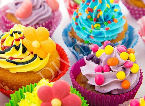 """Фотообои  Bon Appetit """"Кексы"""" - С-307"""