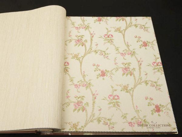 Виниловые обои на бумажной основе Zambaiti Satin Flowers - Z4141