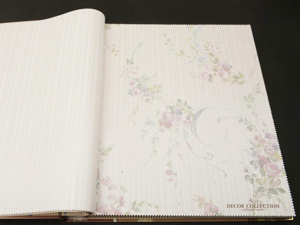 Виниловые обои на бумажной основе Zambaiti Satin Flowers - Z4163