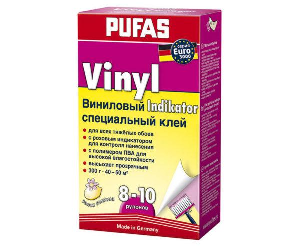 Клей для виниловых обоев Pufas Indikator 300 г - 24120/300