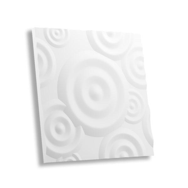 Гипсовая 3D панель КРУГИ