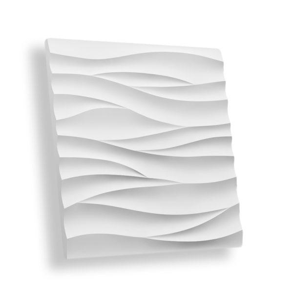 Гипсовая 3D панель ВОЛНА ОСТРАЯ