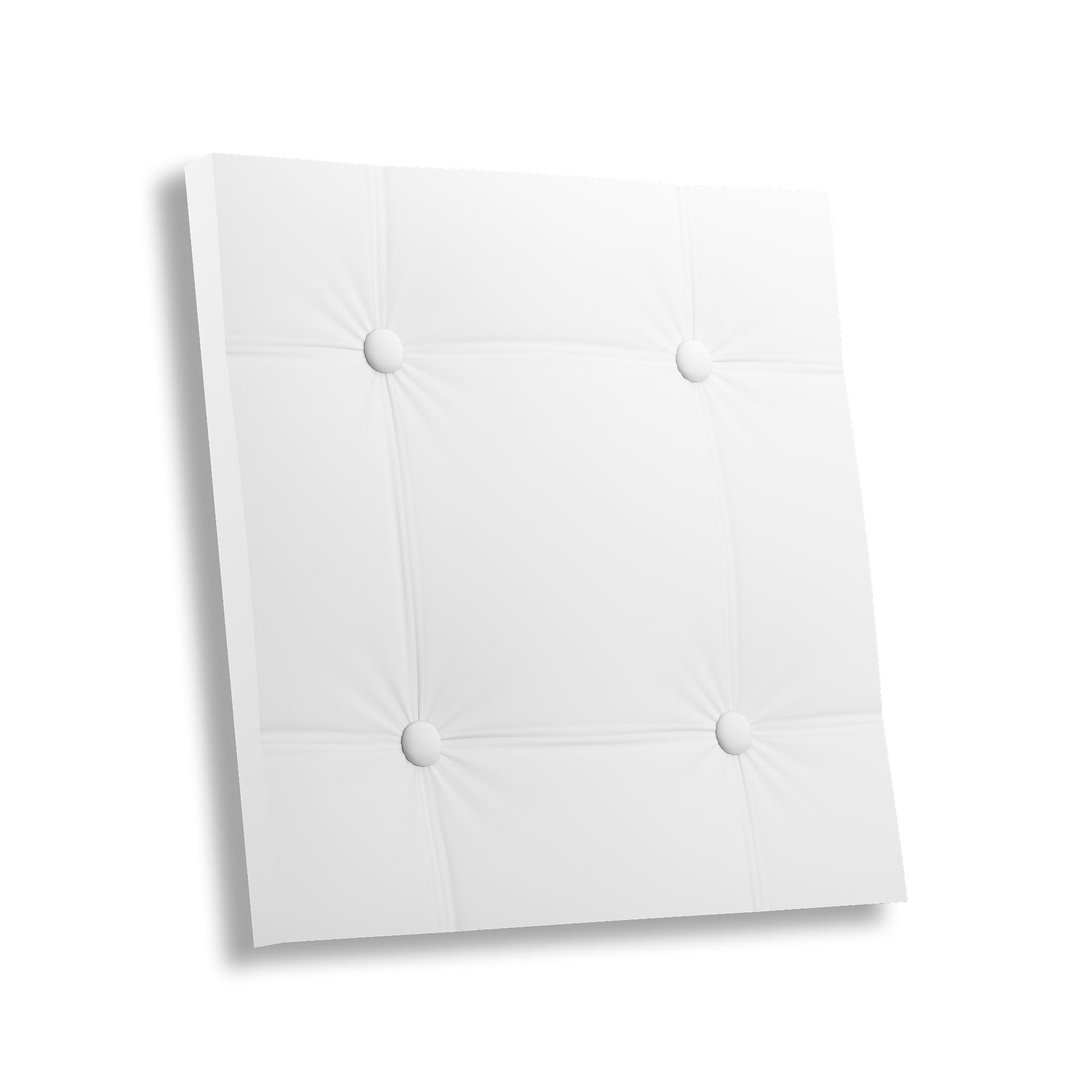 Гипсовая 3D панель КОЖА ПРЯМОЙ КВАДРАТ