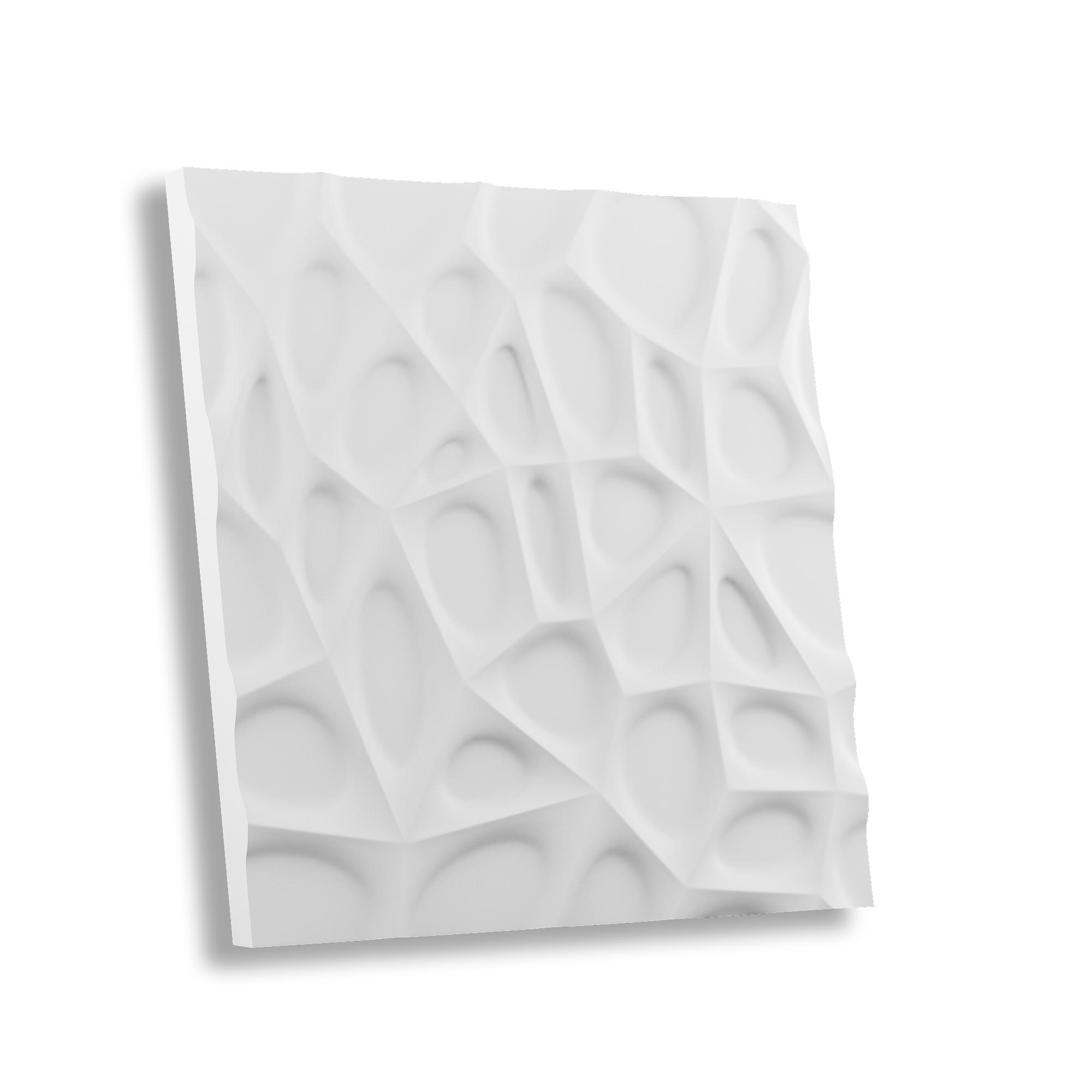 Гипсовая 3D панель ПАУТИНА