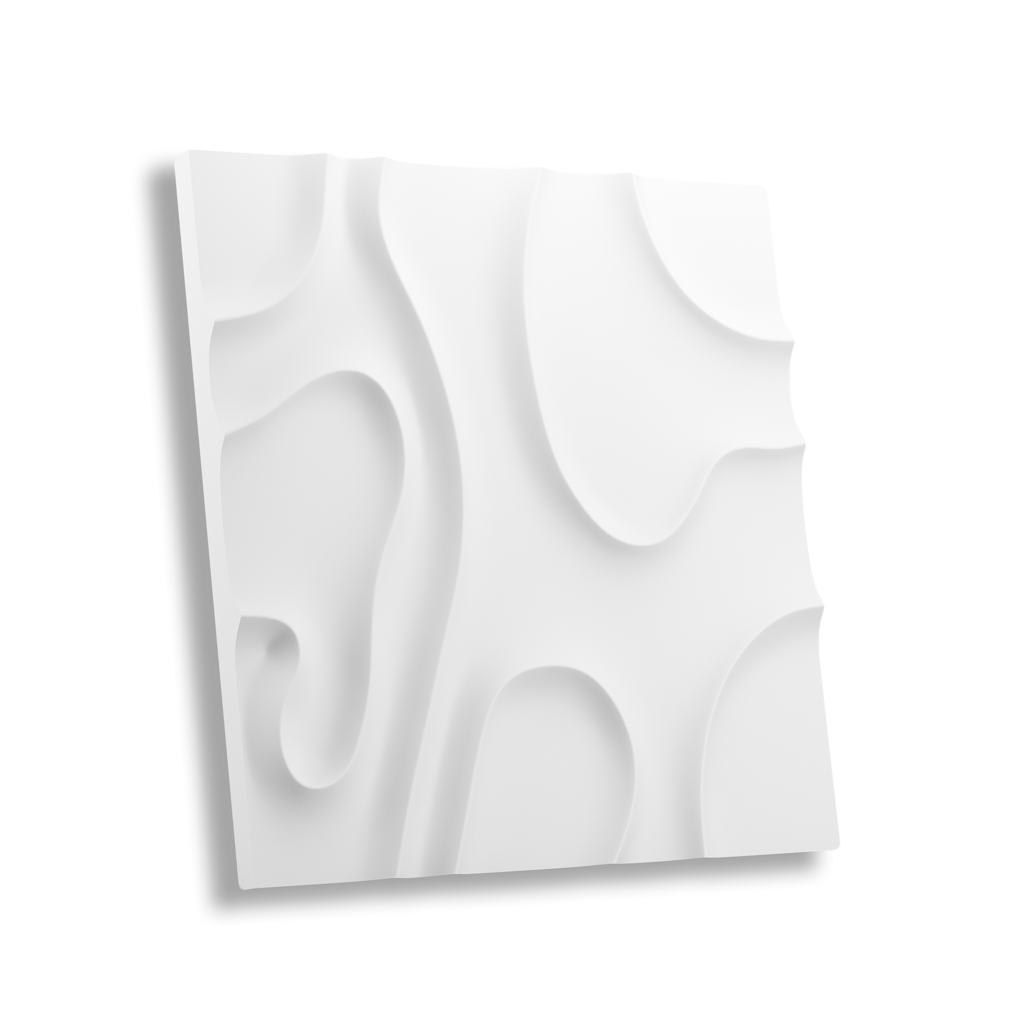 Гипсовая 3D панель РАЗВОДЫ