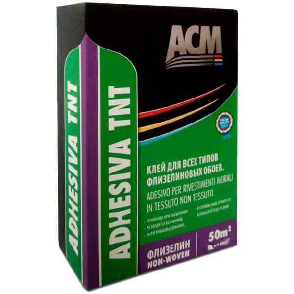 Клей для флизелиновых обоев ADHESIVA TNT 250 гр. - 10016-250